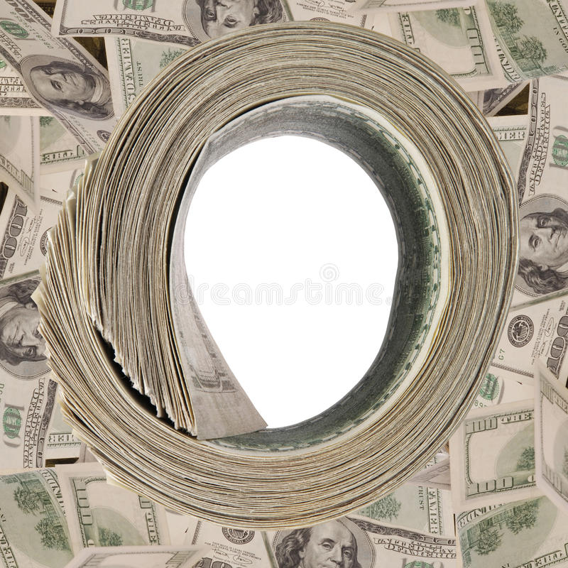 Download Money Roll, Roll Of Bills, Roll Of Dollar Bills. Stock Photo - Image: 17430398