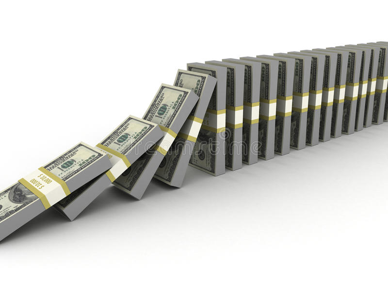 Download Money row stock illustration. Image of business, nobody - 14734021