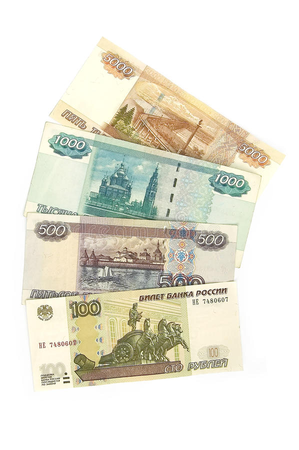Download Money Russia stock photo. Image of isolated, success - 14369808