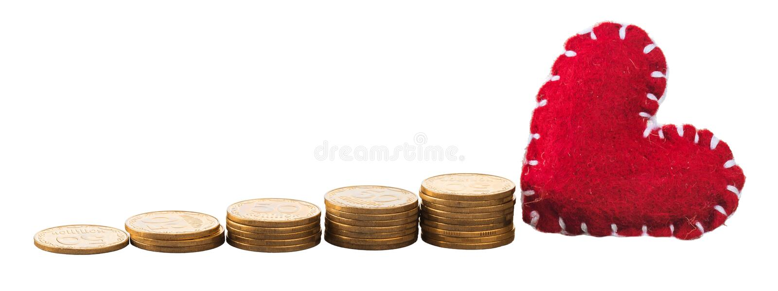 Money. Save growth tax value increase retirement stock photography