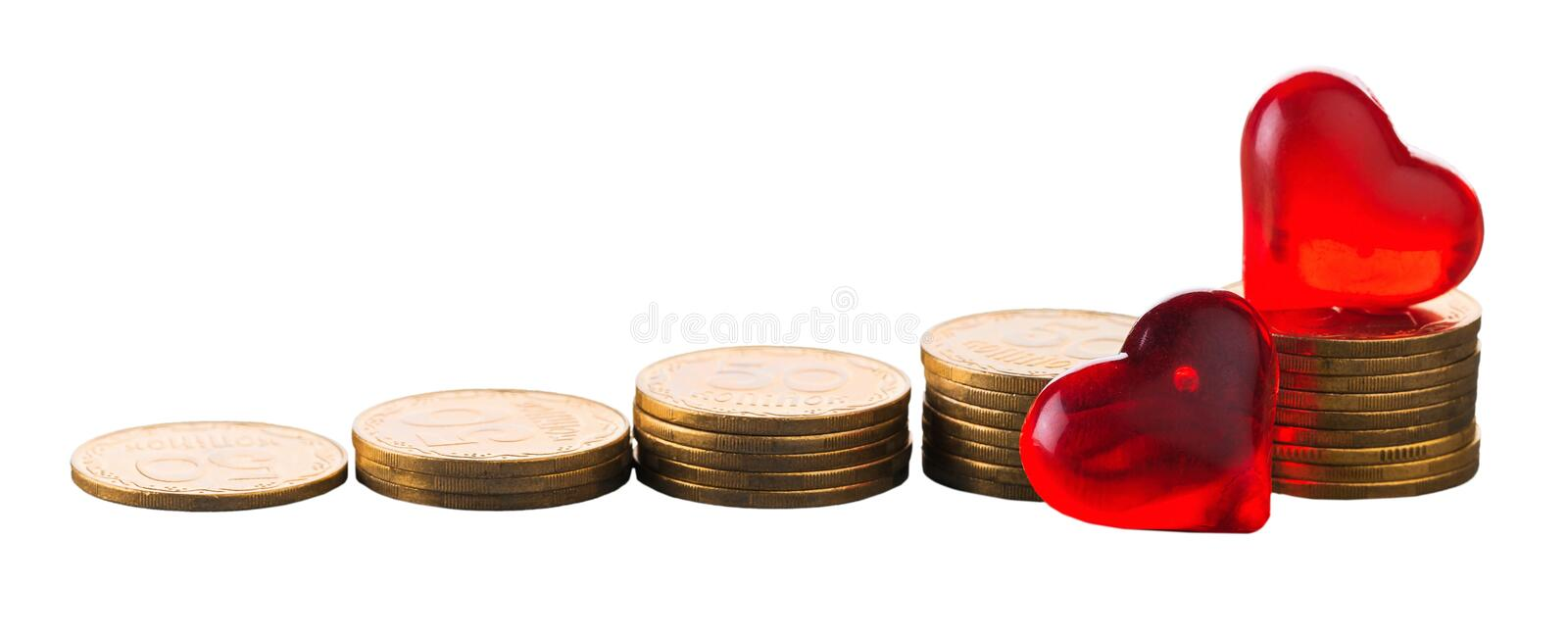 Money. Save growth tax value increase retirement stock photos