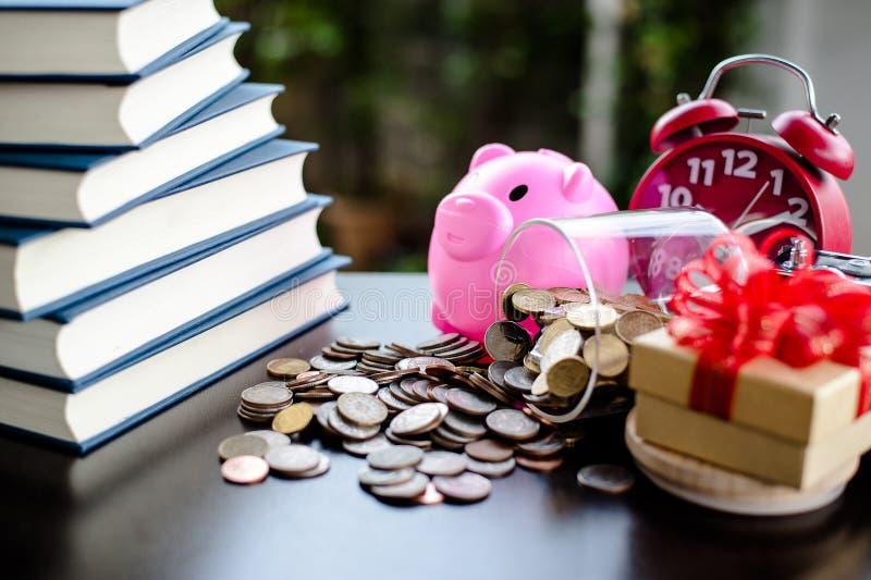 Money Saving Money Saving Ideas Save money, preset ideas by hand. Put money in the money stack business royalty free stock image