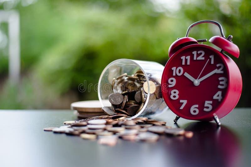 Money Saving Money Saving Ideas Save money, preset ideas by hand. Put money in the money stack business royalty free stock photos