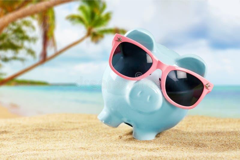 Money savings bank stock photography
