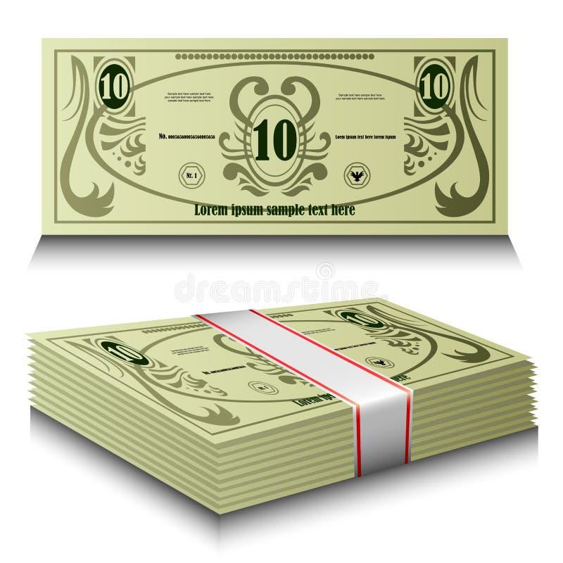Download Money set stock vector. Image of dollar, finance, hundred - 29219899