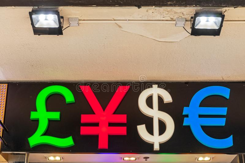 Money Signs royalty free stock photo