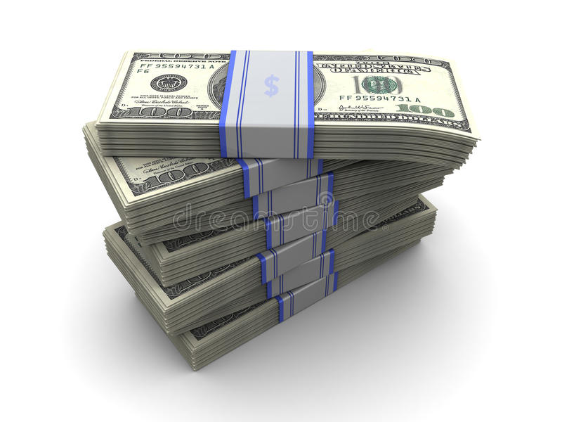 Download Money stack stock illustration. Illustration of bacon - 13429126