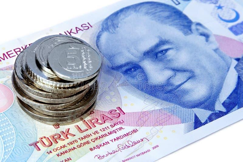 Money Stack With Ataturk Stock Photo