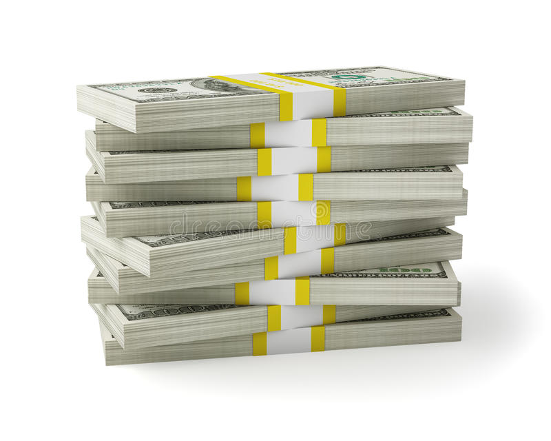 Download Money stack stock image. Image of investing, heap, rendered - 38694061