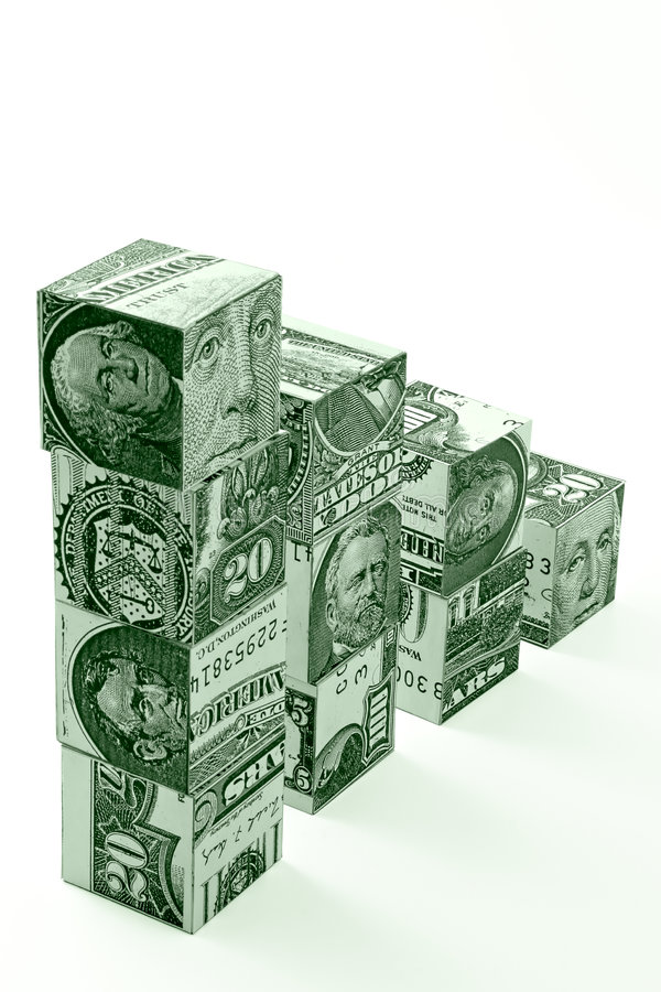 Free Money Stairs Concept Stock Images - 1827944