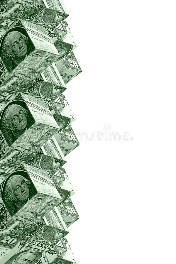 Free Money Stairs Concept Royalty Free Stock Photography - 1828017