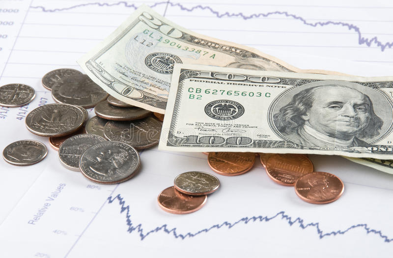 Money And The Stock Market stock photography
