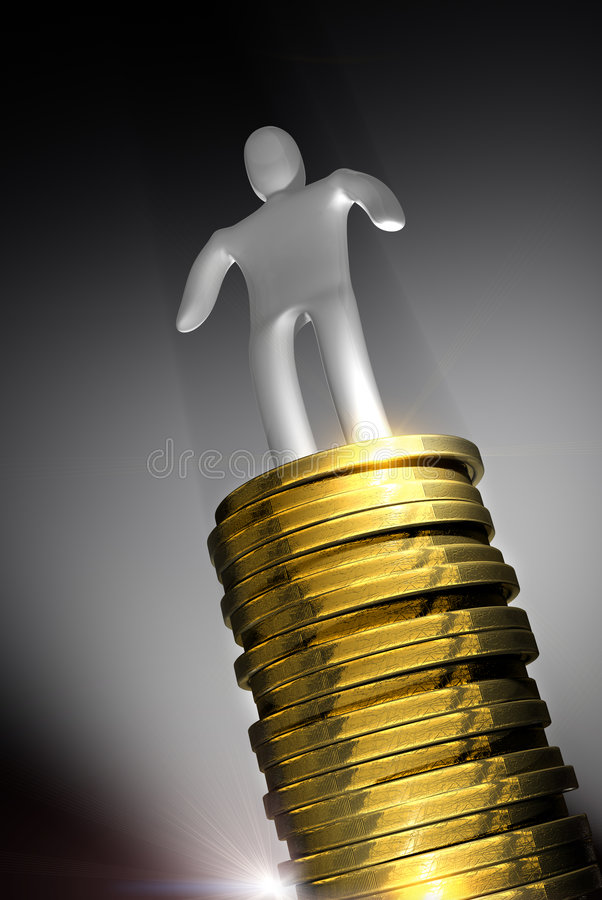 Download Money success concept stock illustration. Image of currency - 9249281