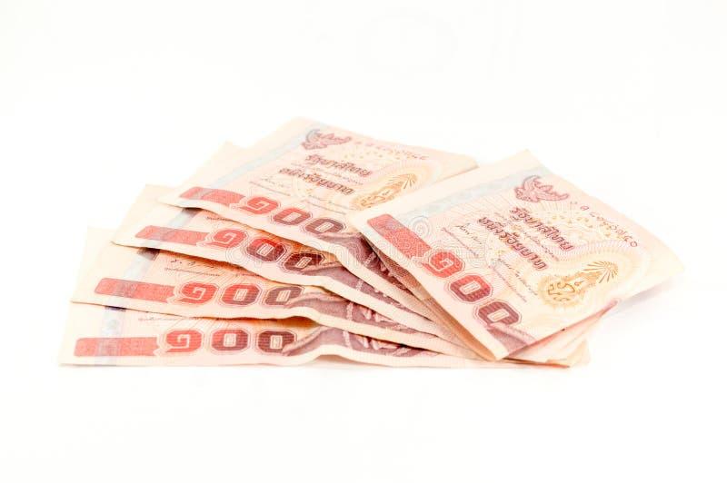Money thai 100 baht royalty free stock photography