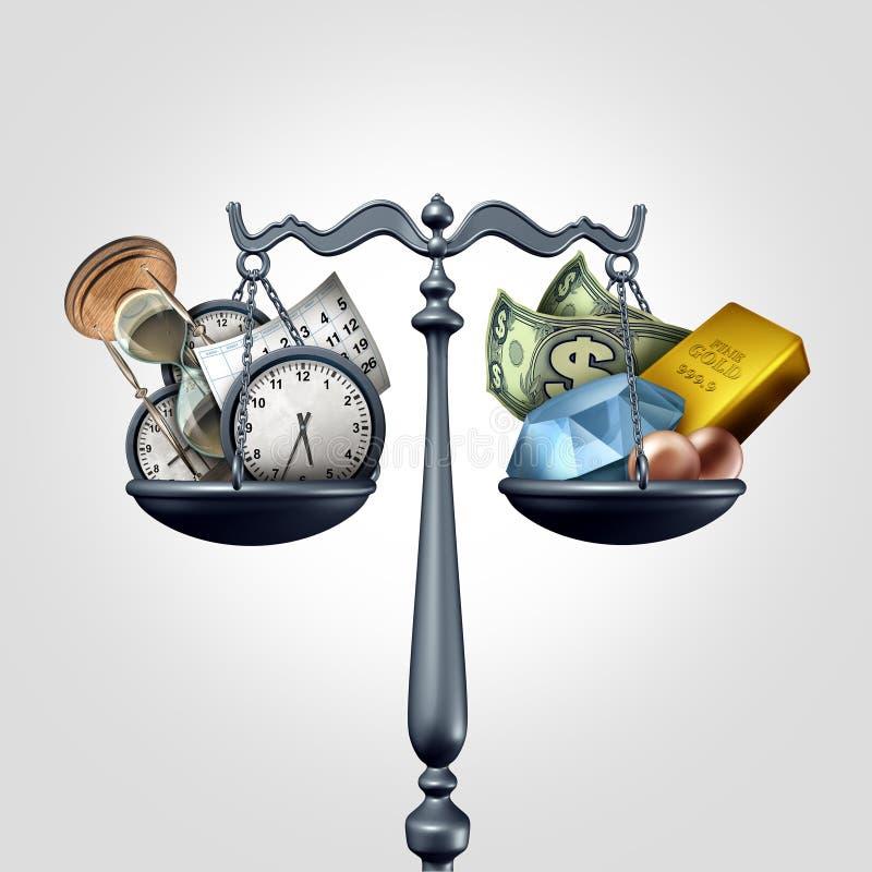 money time stock illustrationer