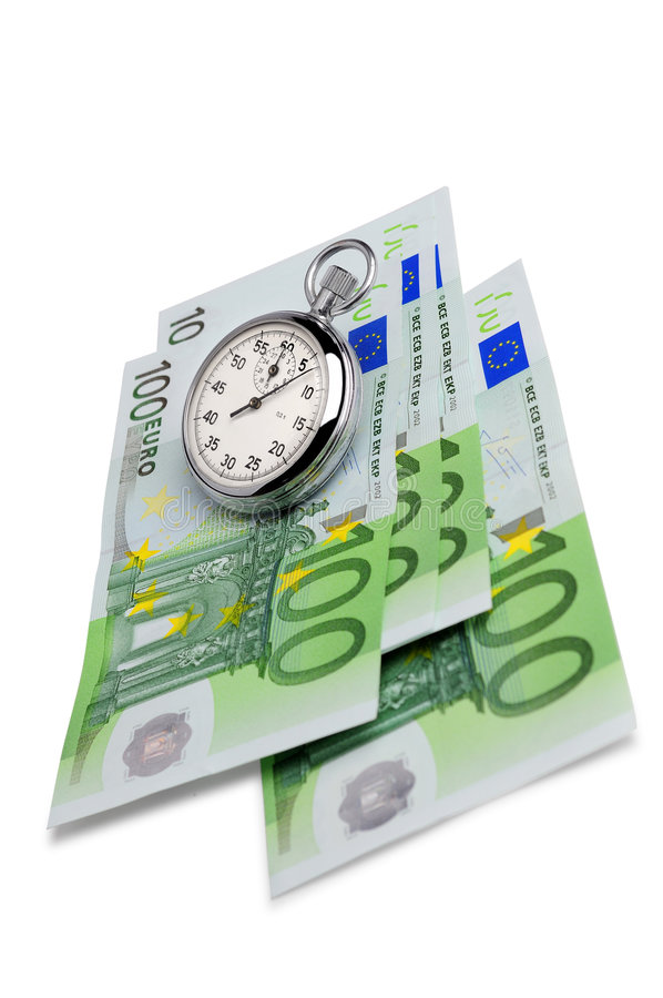 Download Money and timer stock image. Image of hundred, investment - 4698197