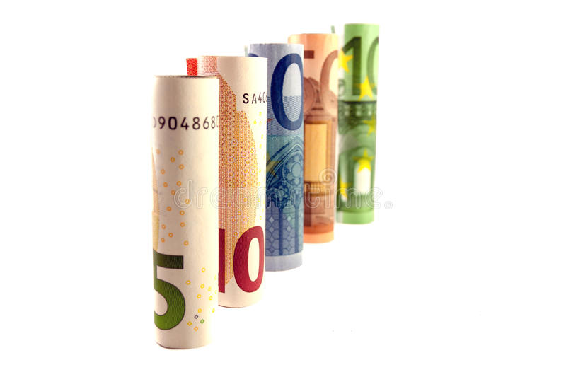 Money tower stock photos