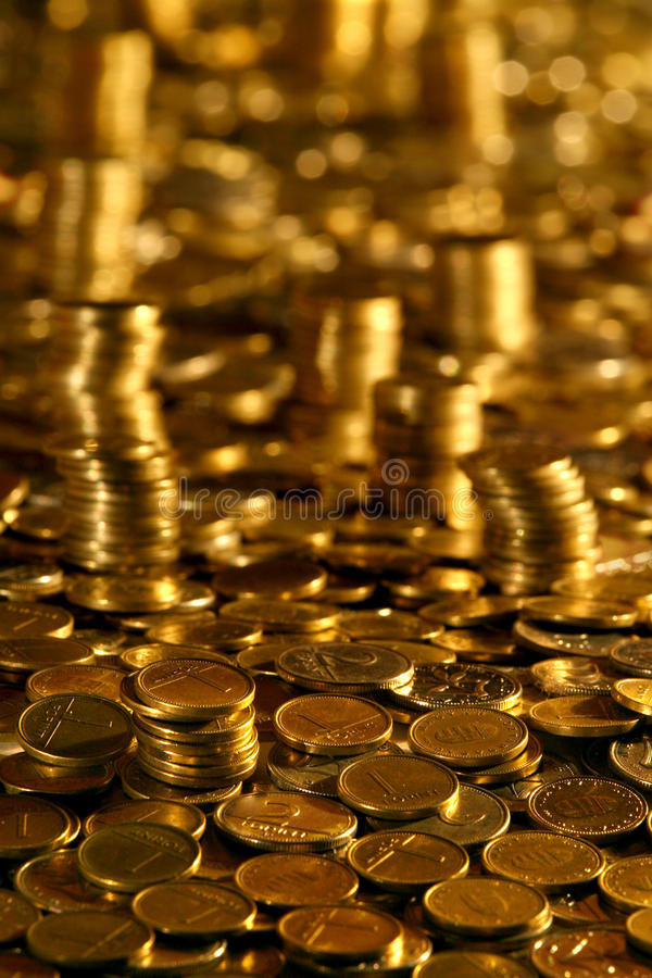 Money Towers royalty free stock photos