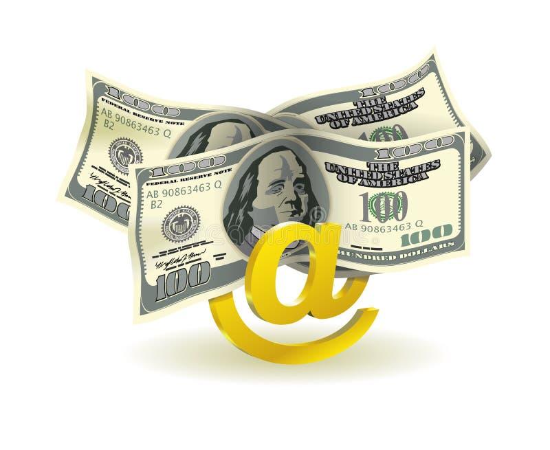 Download Money transfer. stock vector. Image of backgrounds, metal - 26078541