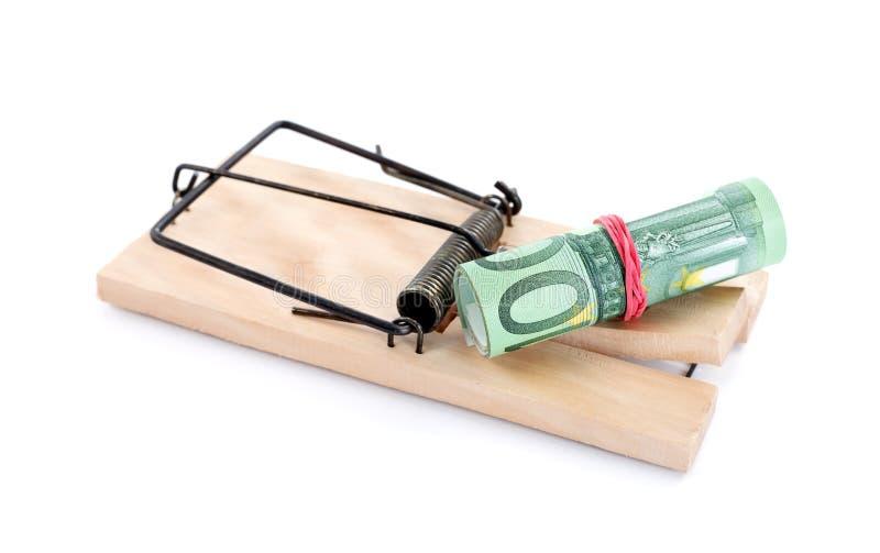 Money trap stock photos