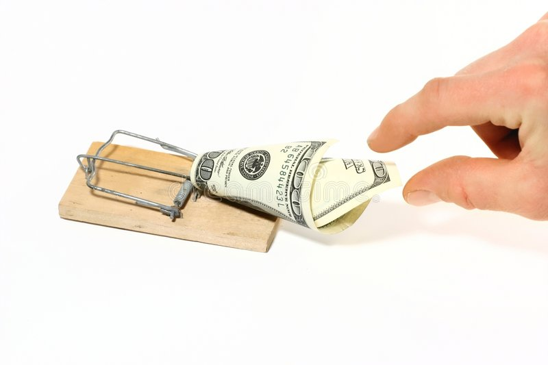 Download Money trap stock image. Image of business, mousetrap, tempted - 44351