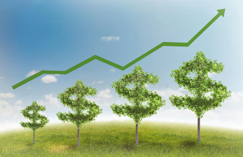 Download Money tree stock illustration. Image of image, funds - 22285711
