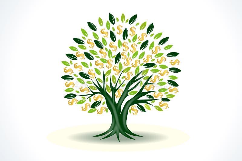 Money Tree Prosperity Symbol Logo Stock Vector Illustration Of Family Design 197619866