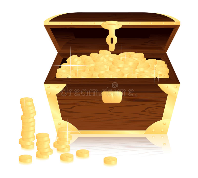 Money Trunk Stock Images