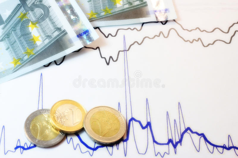 Money value. A concept of money value, crisis, stocks and global market stock images