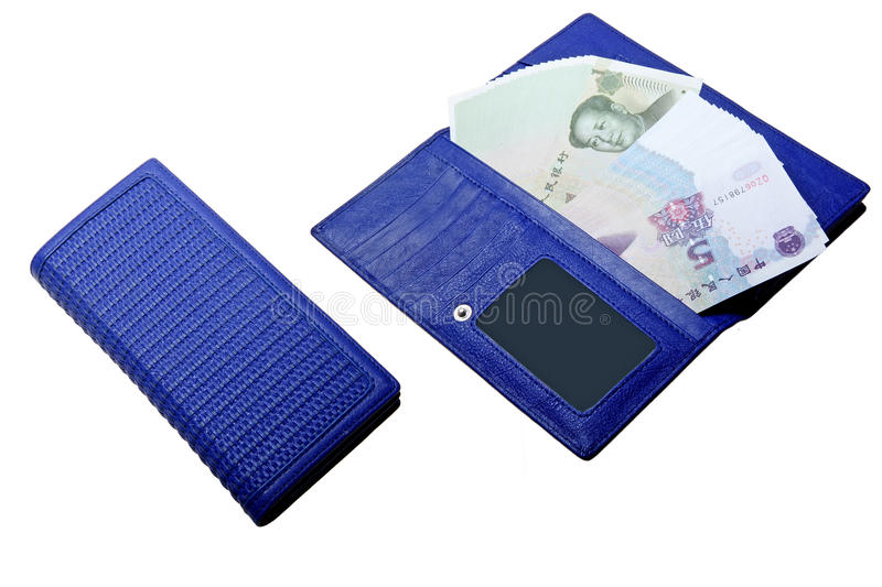 Money in wallet royalty free stock images