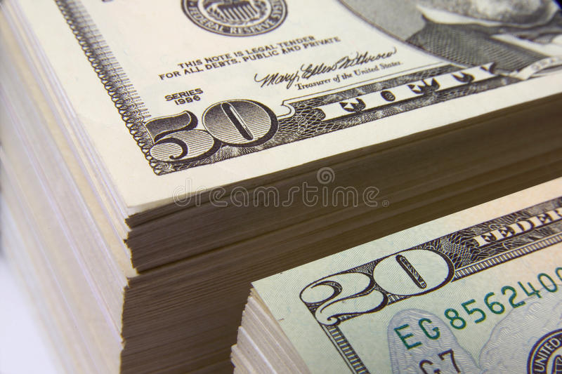 MONEY FINANCIAL PLANNING WEALTH MANAGEMENT RETIREMENT PILE. Financial and estate planning, wealth management, saving for retirement, trust fund. Time to save stock image