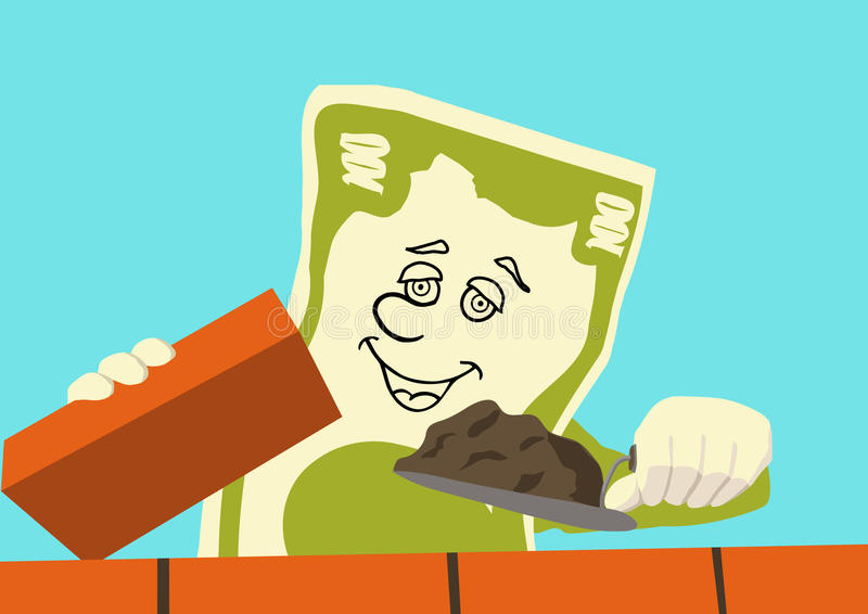 Download Money Is Working Royalty Free Stock Image - Image: 9832206