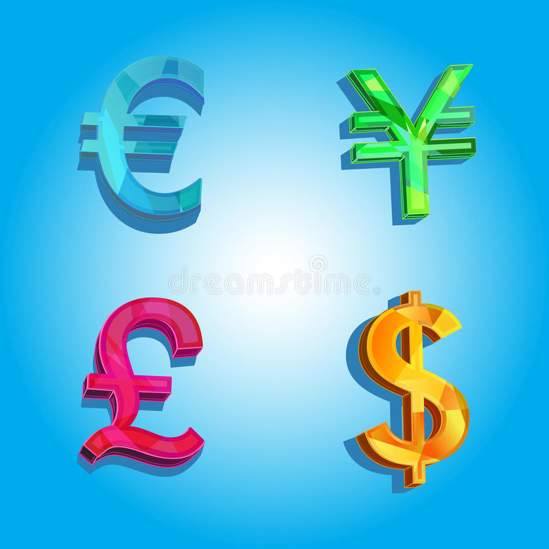 Download Money of the world stock vector. Image of banking, icon - 17826148
