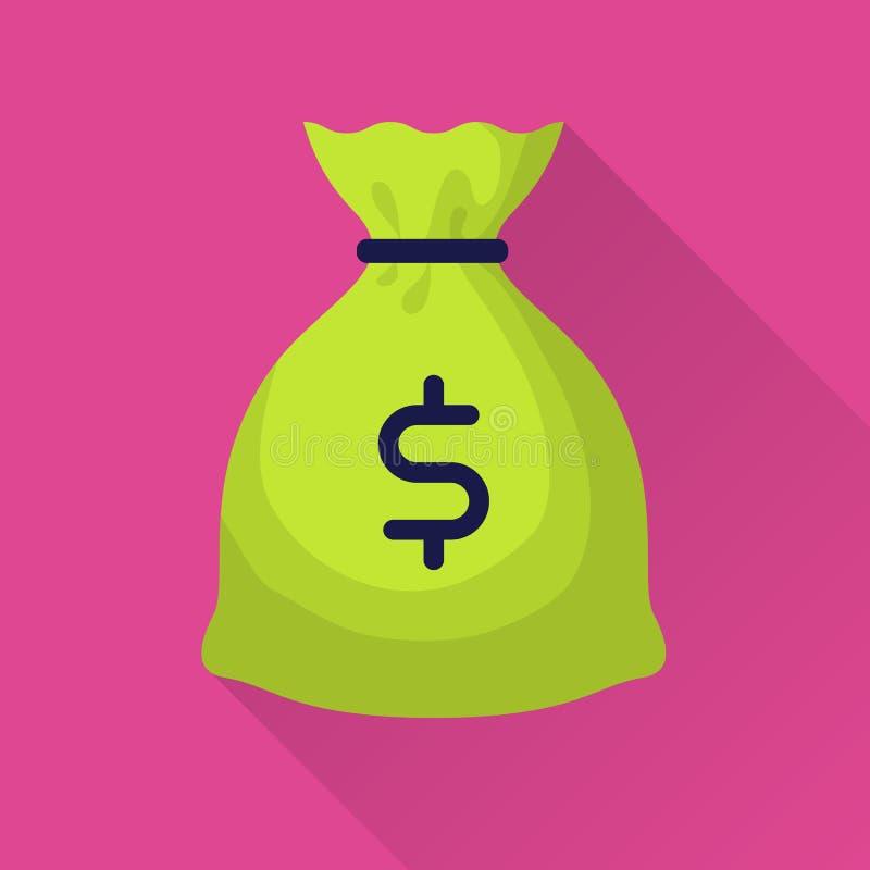 Moneybag с знаком доллара бесплатная иллюстрация