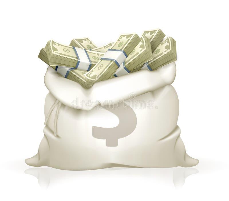 Moneybag vector illustratie