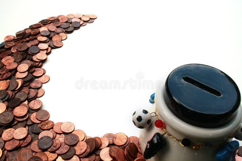 Moneybox stockbilder