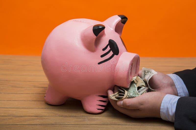 moneybox photographie stock libre de droits