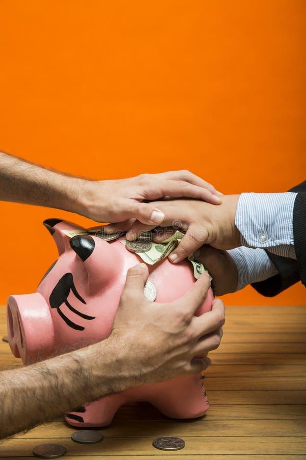 moneybox image stock