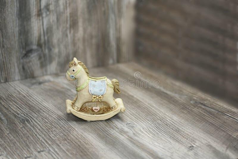 Moneybox in Form eines Pferds stockbild