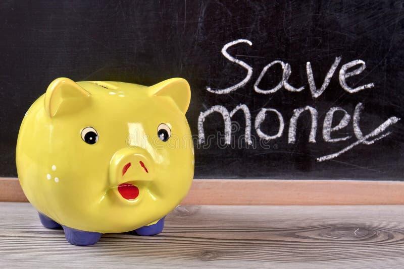 Moneybox guarro, cierre para arriba imagen de archivo libre de regalías