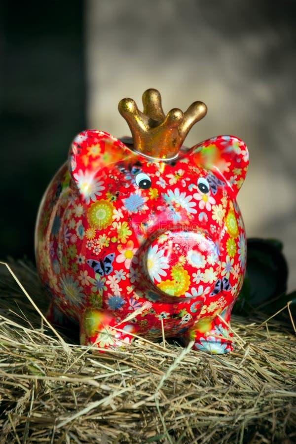 Moneybox porcin photo stock