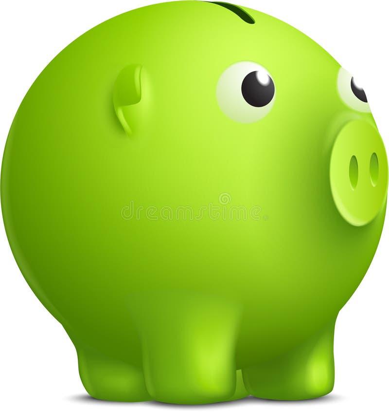 Moneyboxvektor Arkivfoto