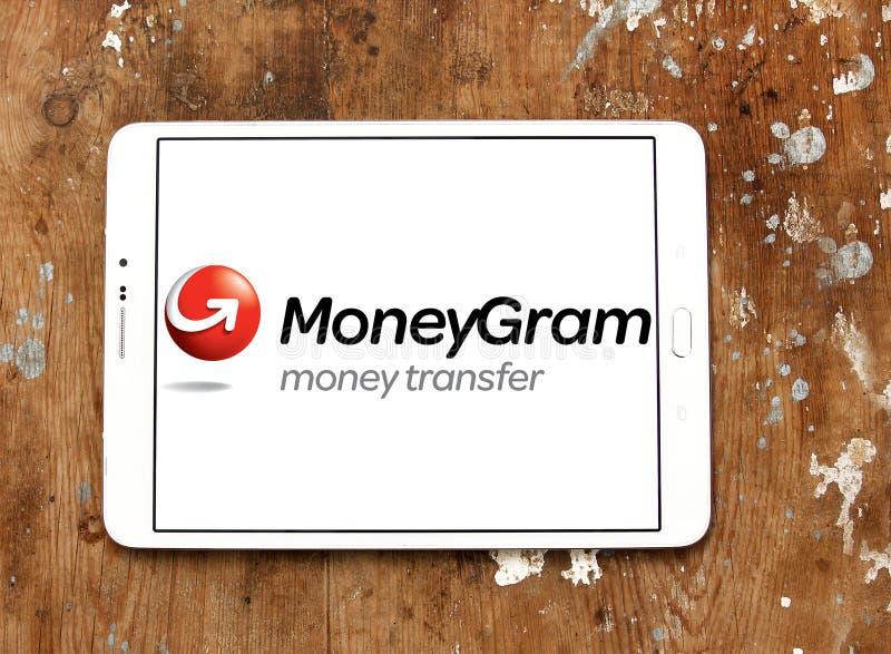 MoneyGram firmy logo zdjęcia stock