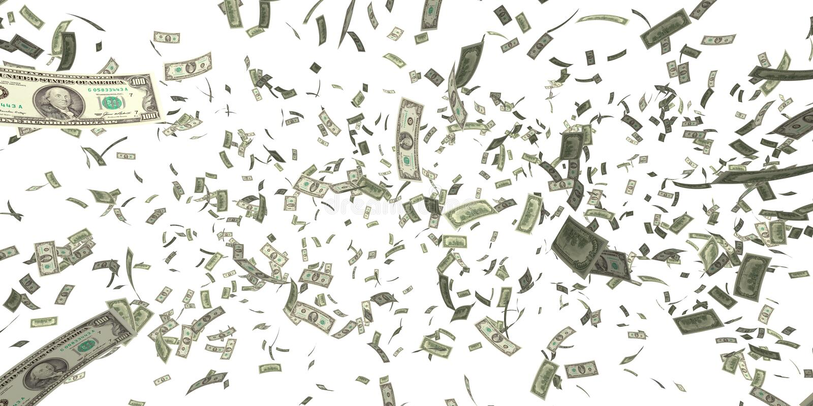 Moneyrain stock illustration