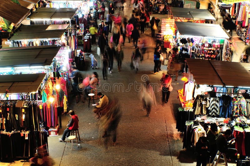 Mong Kok, Гонконг стоковое фото rf