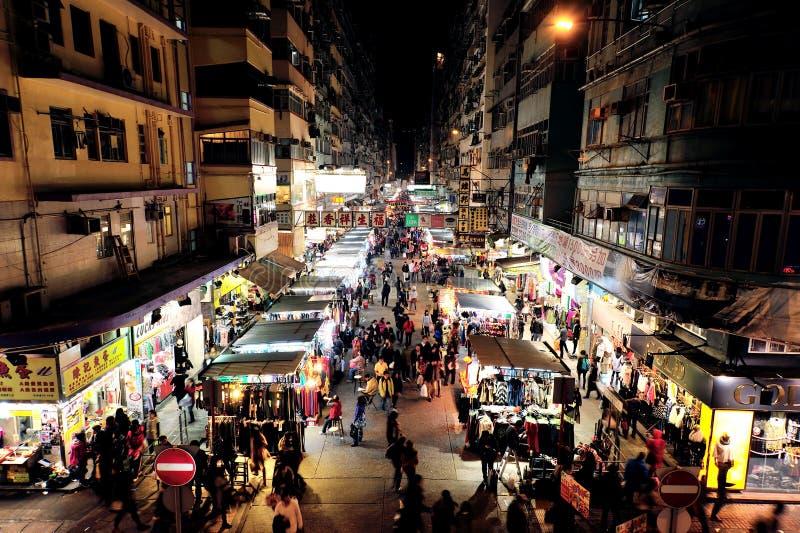 Mong Kok, Гонконг стоковые изображения rf