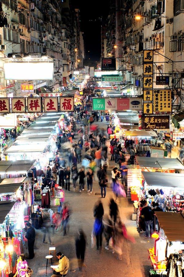 Mong Kok, Hong Kong imagenes de archivo