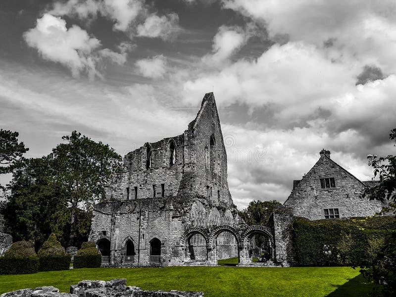 Monge Priory foto de stock royalty free