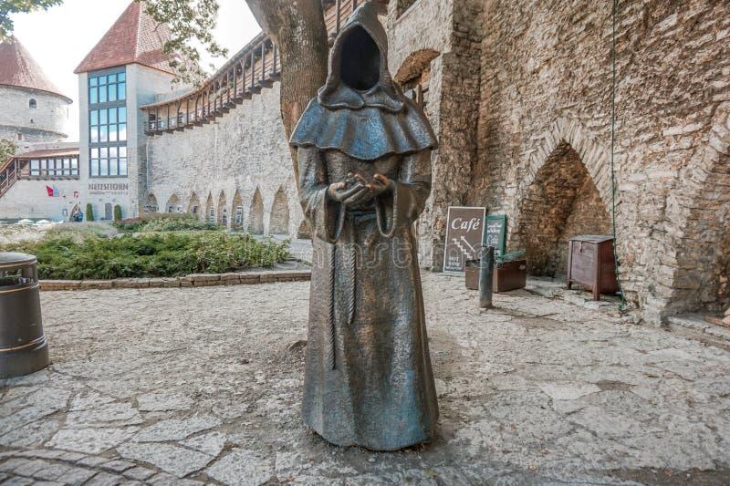 Monge Statue imagens de stock