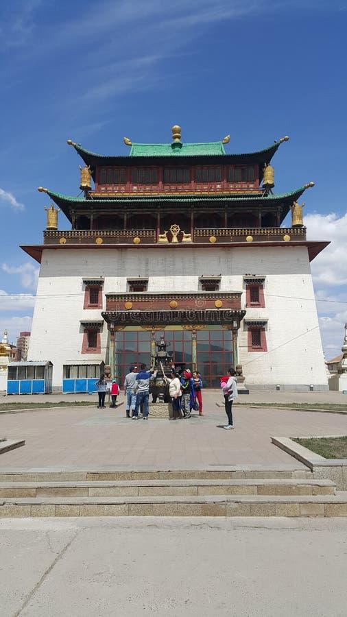 Mongoł monastry obrazy stock